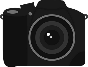 Single Lens Reflex Camera clipart