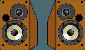 Audio Speakers clipart