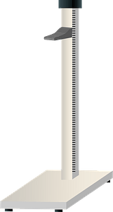 Stadiometer - Measure Height clipart