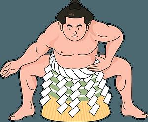 Sumo Wrestler clipart