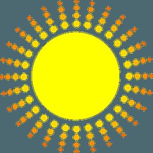 Sun Fine Day clipart
