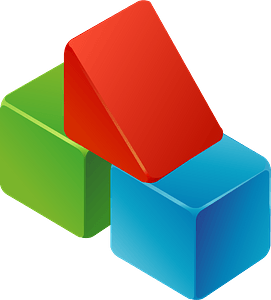 Toy Blocks clipart