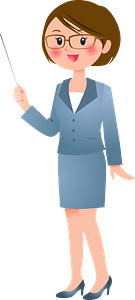 Woman Teacher clipart