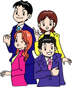 Young Business People clipart