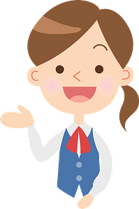Businesswoman Acting as a Guide clipart