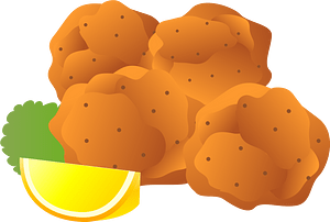 Chicken Karaage Food clipart