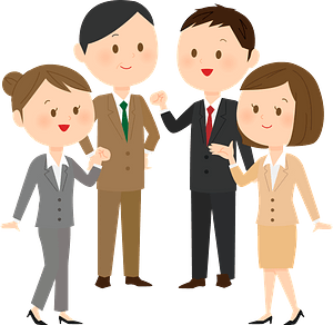 Business People from the Company clipart