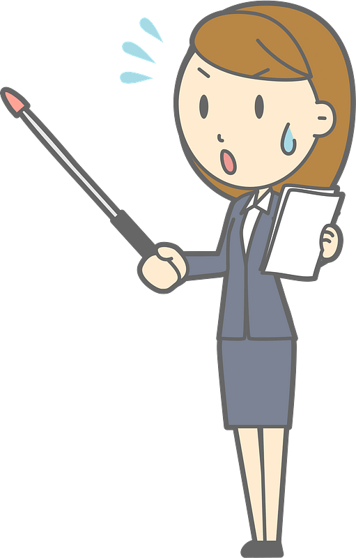 Lenore Businesswoman Is Giving A Presentation Clipart Free Download Transparent Png Creazilla