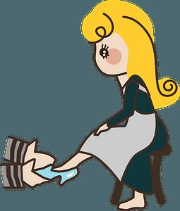 Cinderella clipart
