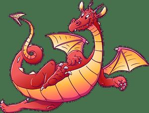 Cartoon Dragon clipart