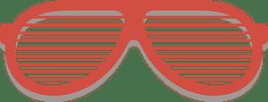 Lattice glasses clipart