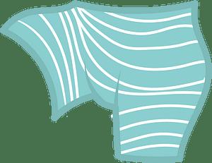 Swimming shorts clipart