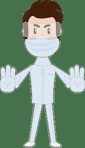 Doctor surgeon clipart