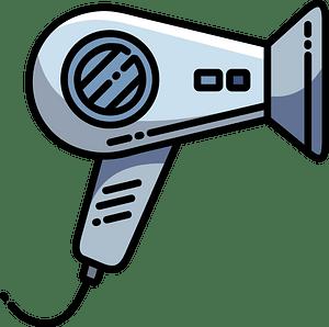 Hair dryer clipart