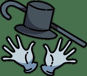 Jazz hands clipart
