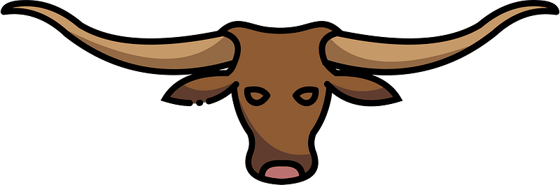 Longhorn clipart