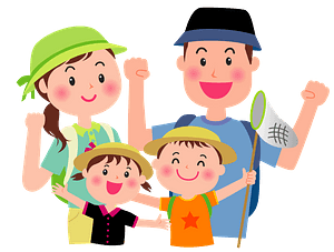 Family is Going Out clipart