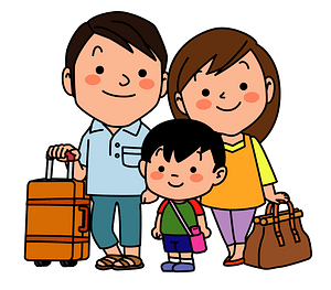 Family is Traveling clipart