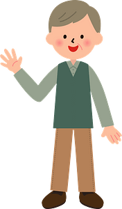 (Henry) Grandfather clipart