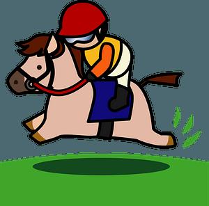 Horse Racing Jockey clipart