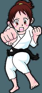 Karate Martial Arts clipart