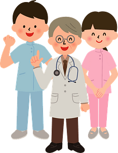 (Troy) Medical Doctor and Nurses clipart