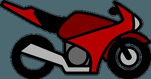 Motorcycle Motorbike clipart