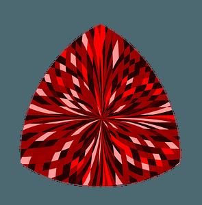 Ruby Garnet Gemstone clipart