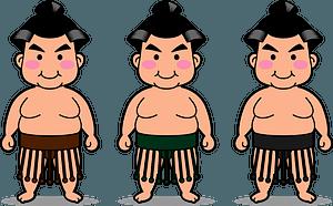 Sumo Wrestlers clipart