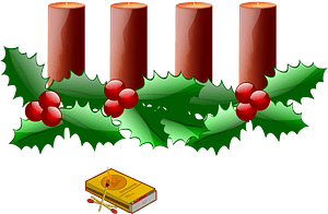 Advent 0 clipart