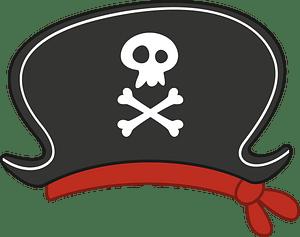 Pirate hat clipart