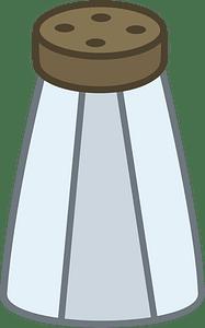 Salt shaker clipart