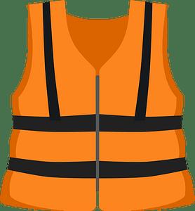 Life vest clipart