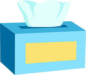 Tissue box clipart