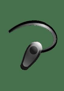 Bluetooth Headset clipart