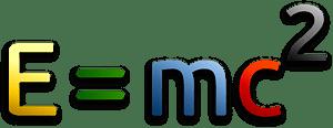 Mass - Energy Equivalence Formula clipart