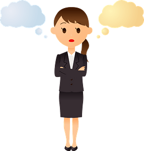 (Simone) Businesswoman clipart