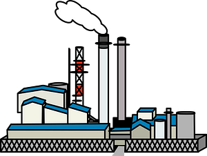 Factory Industry clipart