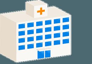 Hospital Building clipart