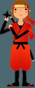 Ninja Shinobi clipart