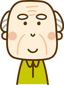 (Arnold) Old Man Grandfather clipart