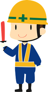 (Caleb) Construction Field Worker clipart