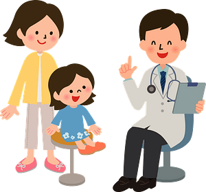 (Trevor) Medical Doctor and Patient clipart