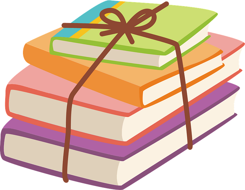Books clipart. Free download transparent .PNG | Creazilla