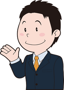 Businessman Acting as a Guide clipart