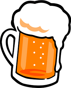 Beer in a Mug clipart