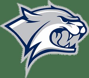 Grey wildcat logo 클립 아트
