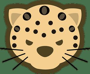 Leopard logo mascot 클립 아트