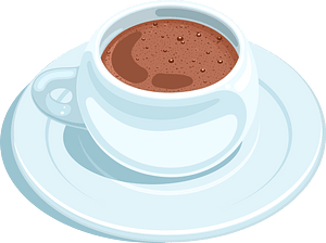 Hot chocolate clipart