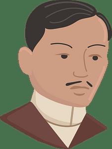 Jose Rizal clipart